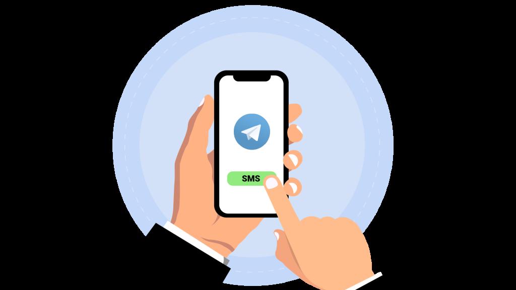 Virtual number for Telegram