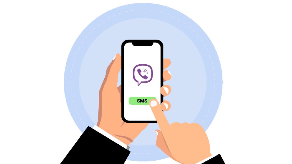 Virtual number for Viber