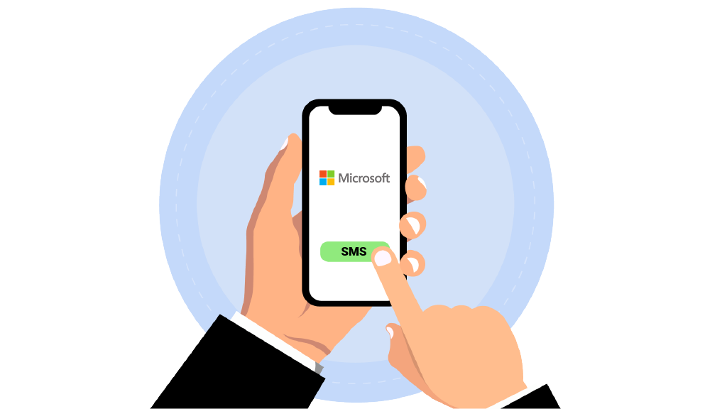 virtual number for Microsoft