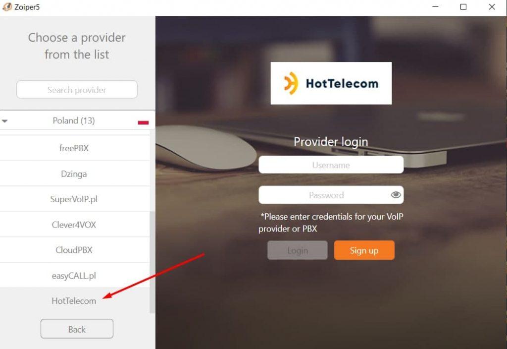 Hottelecom VoIP